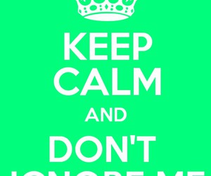 green, please, and keep calm image