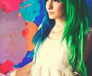 miranda ibañez, colors, and hair image