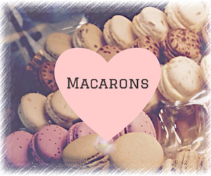 colourful, cute, and macarons image