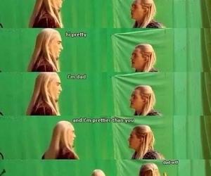 Legolas, thranduil, and hobbit image