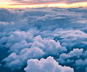 clouds, sunrise, and beautyfully image
