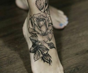 foot tattoo, Tattoos, and must have image
