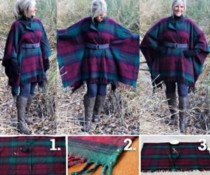 diy wool blanket coat image