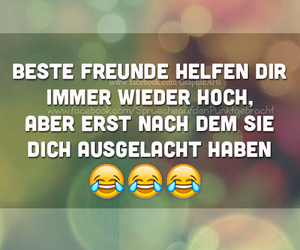 funny, quotes, and freunde image