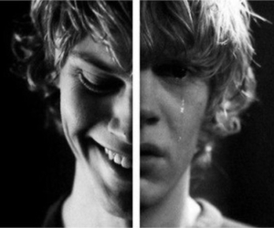 ahs, evan peters, and american horror story image