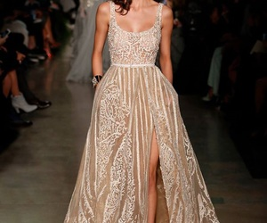 dress, beautiful, and elie saab image