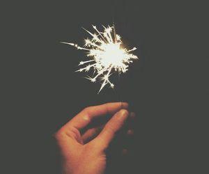 light, fireworks, and grunge image