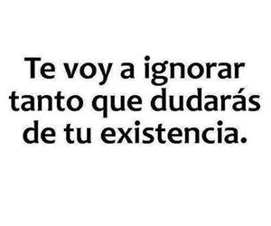 ignorar, frases, and quotes image