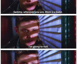 supernatural, dean winchester, and mary winchester image
