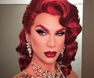 red hair, rupauls drag race, and beat face image