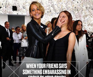 Jennifer Lawrence, friends, and funny image