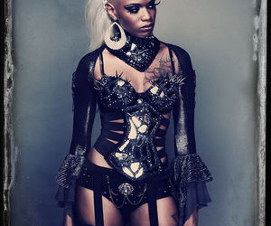 goth, clothes, and fashion image