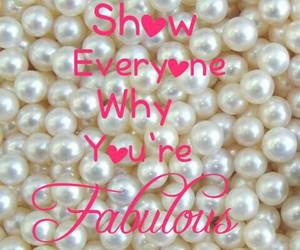 confidence, feminine, and pearls image