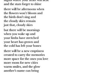 moon, poem, and stars image