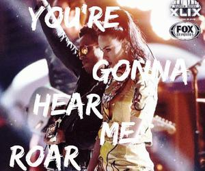 katy perry, Lyrics, and roar image