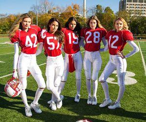 Victoria's Secret, Adriana Lima, and Behati Prinsloo image