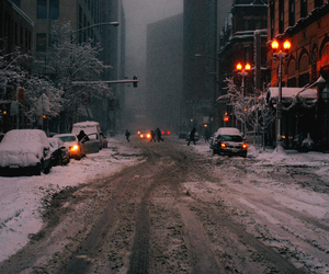 chicago, bigcity, and cold image