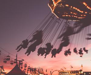 fun, sunset, and grunge image