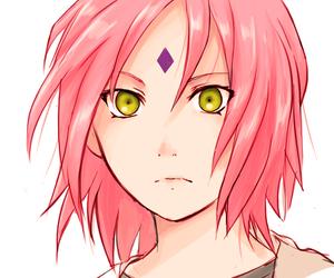 sakura haruno, naruto, and anime image