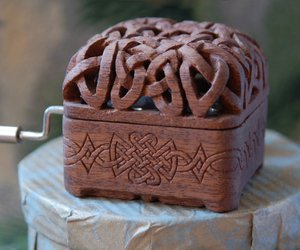 celtic, craft, and music box image