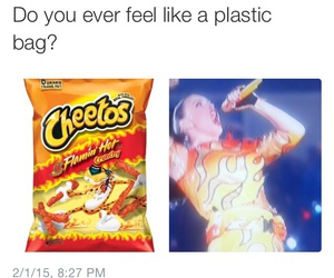 katy perry, funny, and Cheetos image