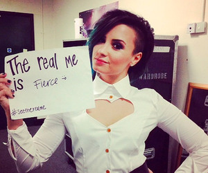 chicas, fierce, and demi lovato image