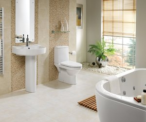 elegant bathroom designs image