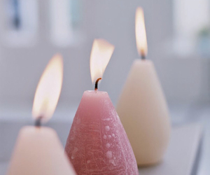 candles, fire, and iphone wallpaper image