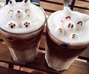 cute, coffee, and drink image