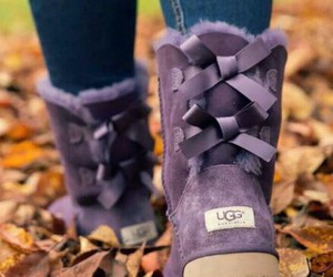 purple, uggs, and ugg image