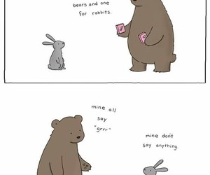 bear, rabbit, and cute image