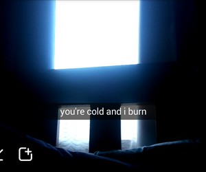 1975, burn, and cold image