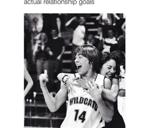 couple, high school musical, and zac efron image