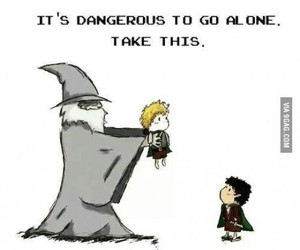 gandalf, LOTR, and frodo image