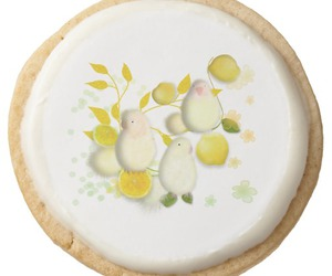 birds, lemons, and shortbread image