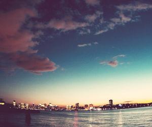 city, sky, and sea image