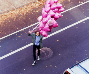 balloons and boy image