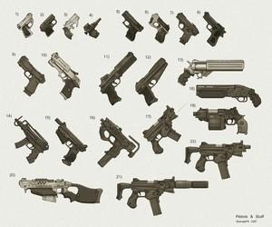 guns and anime image