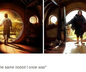 the hobbit, bilbo baggins, and there and back again image