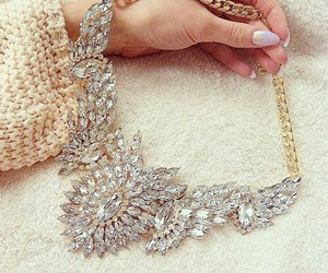 fashion, necklace, and luxury image