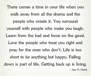 life, walk away, and life quotes image