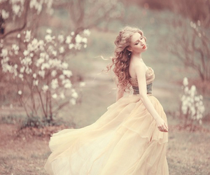 dress, princess, and fairytale image