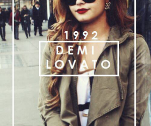 demi lovato, demi, and 1992 image