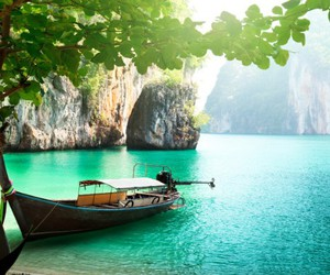 summer, thailand, and sea image