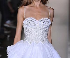 dress, model, and Magdalena Frackowiak image