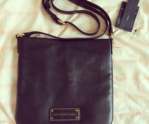 bag, leather, and mbmj image