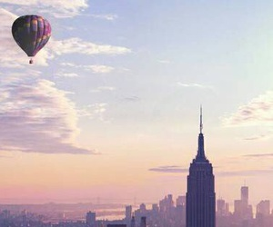 air, city, and new york image