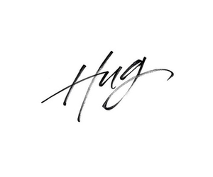 hug and quotes image