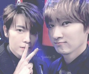 donghae, eunhyuk, and otp image