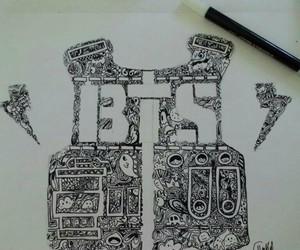 draw and bts image